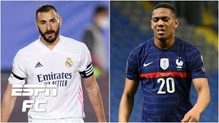 Karim Benzema or Anthony Martial Who should France select for Euro 2020 ESPN FC