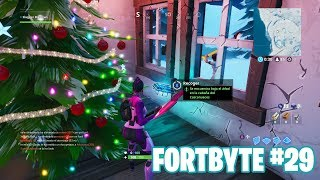 Fortnite Battle Royale ? Fortbyte Challenges How to get the Fortbyte #29