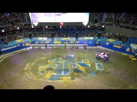 Monster Jam- Zombie Girl (Arena CDMX) 2016