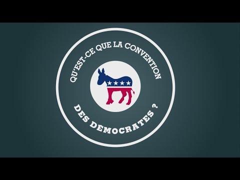 États-Unis : Qu'est-ce que la convention des Démocrates ? #POSTER