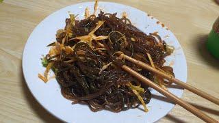 진진's 후루룩 톳&후루룩 미역 비빔국수…