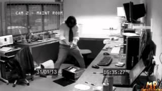 Офисные приколы  The Office funny accidents