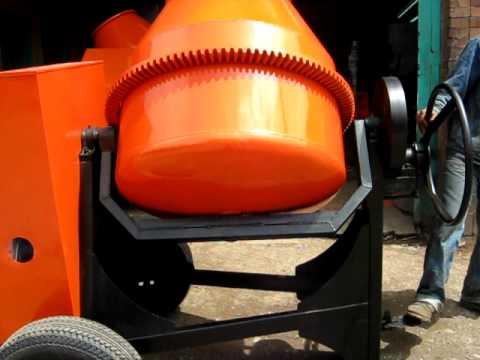 Mezcladora para concreto motor Diesel thumbnail