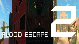 Roblox Flood Escape 2 (Test Map) - Compilation Multiplayer Map 1