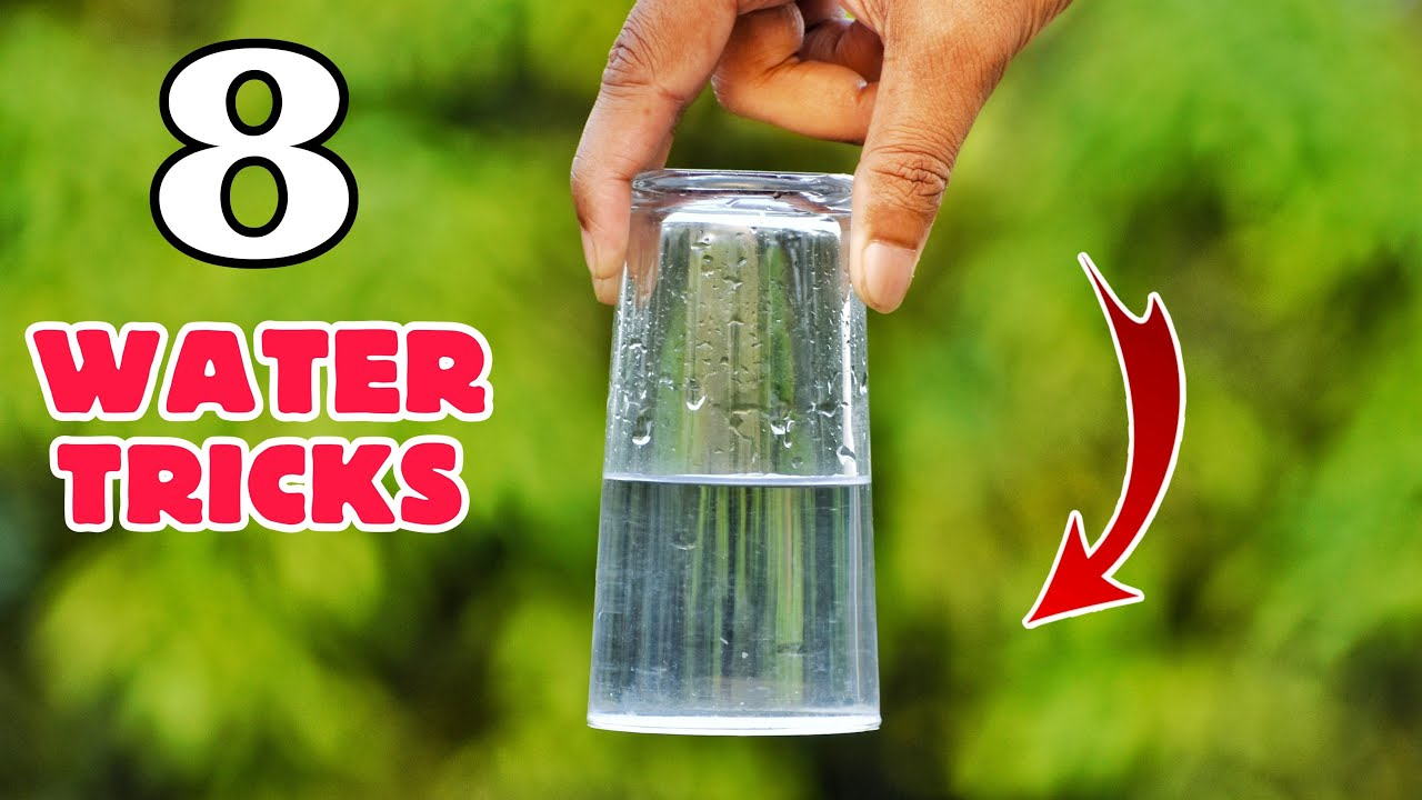 Download 8 Amazing Water Experiments At Home || Easy Science Experiments With Water