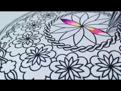 gel pen coloring pages Scribo Creative   Coloring Tips and Hacks, Blending with Gel Pens  gel pen coloring pages