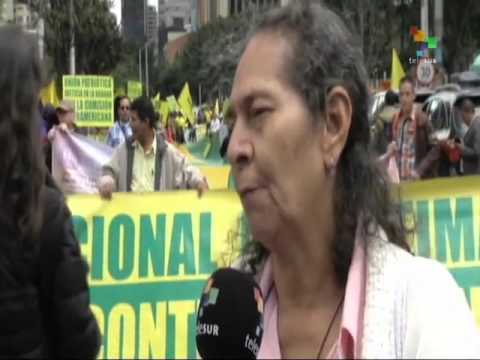 Colombia: Patriotic Union Takes to the Streets