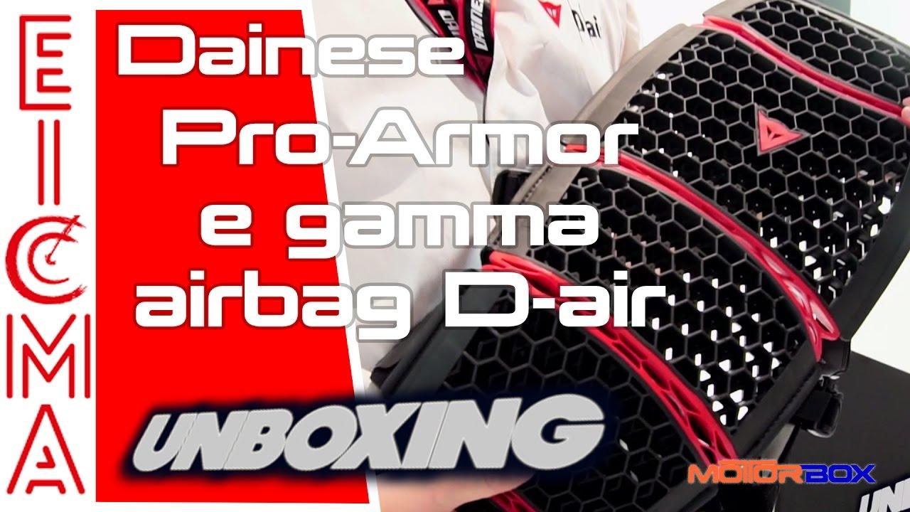 Dainese air Pro Fullback nuovi paraschiena ai giubbotti Armor D dal rwqfPr