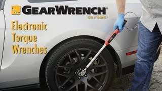GearWrench® Electronic Torque Wrenches (85076 & 85077)