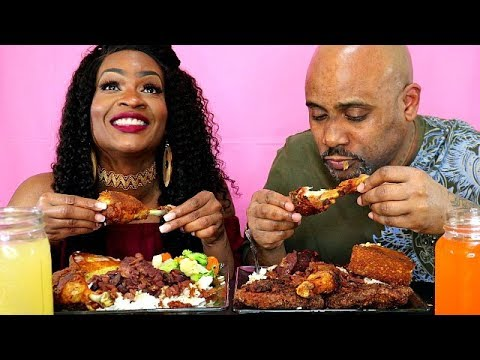 THE BEST PLATE OF 2018! OUR FAVORITE SOUL FOOD MUKBANG!!