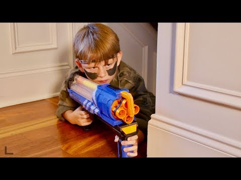 Ridiculous Nicholas: Nerf War Home Alone