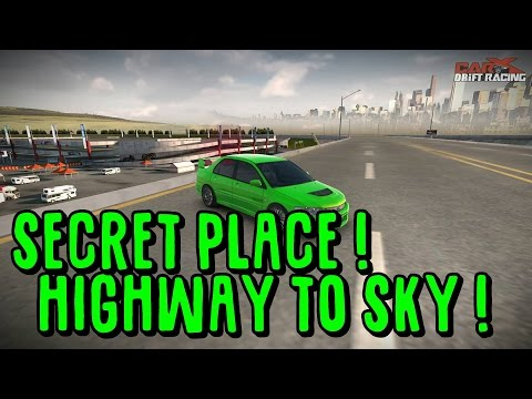 Parking Zone SECRET HIGHWAY ! Photo Place ! - CAR X DRIFT RACING