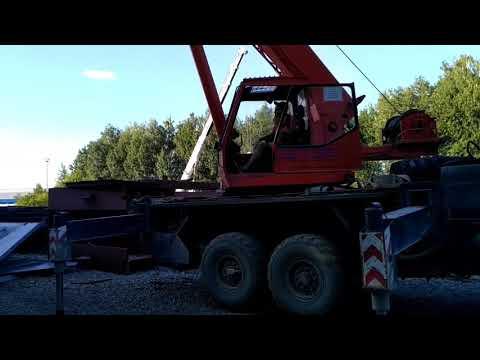 Работа крана клинцы 25 тонн