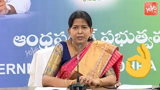 AP Minister Taneti Vanitha Speech on Women and Child Welfare | AP News | CM Jagan