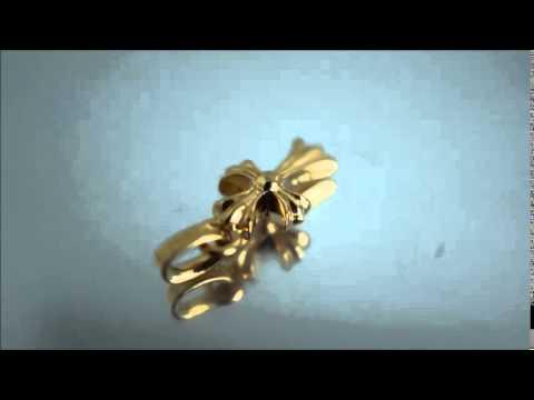 CHROME HEARTS baby fat 22k gold charm / クロムハーツ CHクロス ベイビーファット 22K ゴールド チャーム