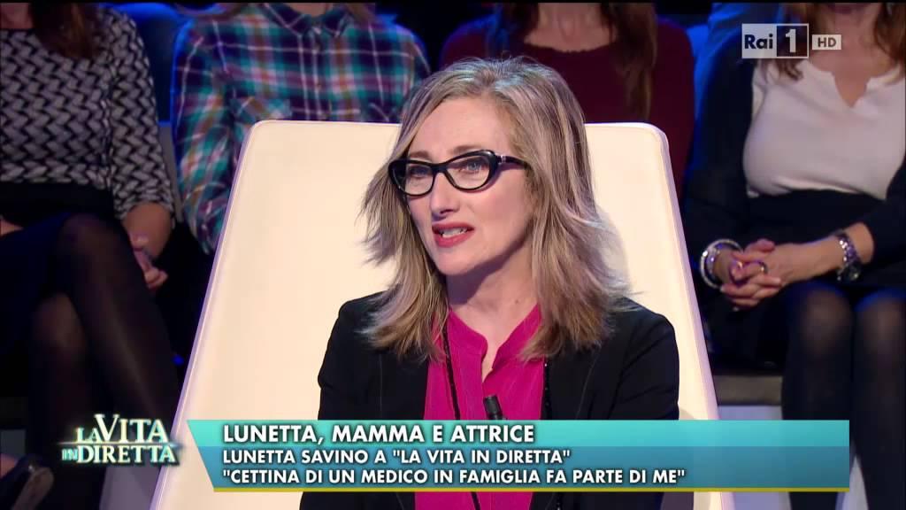 Lunetta Savino Mamma E Attrice La Vita In Diretta 26 03