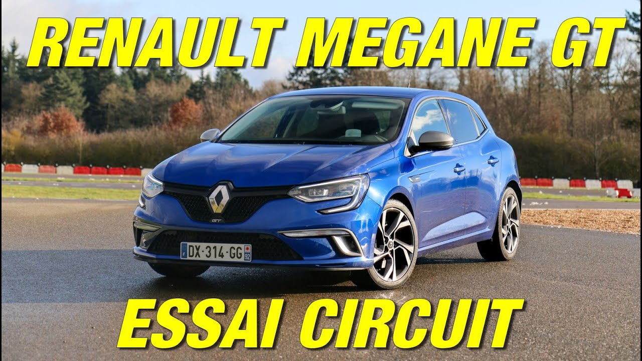 essai renault megane 4 gt la base de la future r s sur circuit youtube. Black Bedroom Furniture Sets. Home Design Ideas