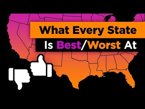What Every State in the US is Best and Worst At Mp3