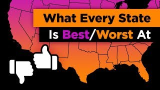 what every state in the us is best and worst at