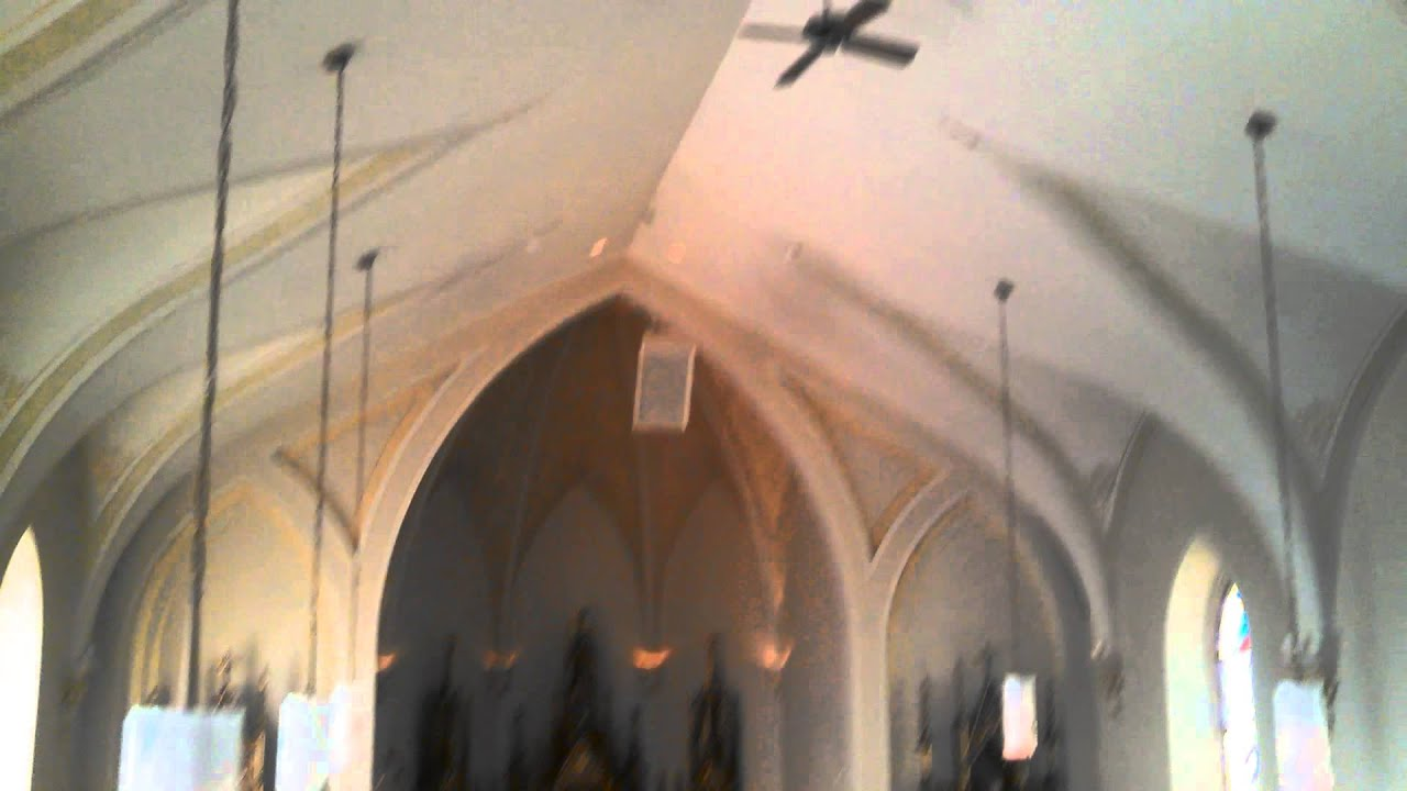 Casablanca Century 9000 Ceiling Fan In A Historic Church Part 2