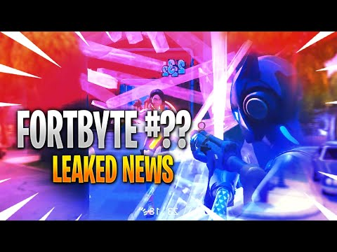 *NEW* FORTNITE LEAKED FORTBYTE CHALLENGES!