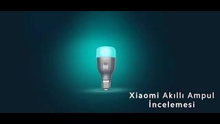 Xiaomi Akıllı Ampul İncelemesi