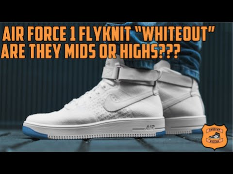 huge selection of b0def 91a89 Air Force One Ultra Flyknit + Mids or high Discussion - GOODCOP BADCOP