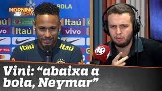VINI carrega o Morning nas costas e detona Neymar