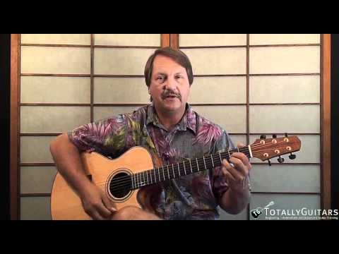 Changes in Latitudes, Changes in Attitudes Acoustic Guitar Lesson - Jimmy Buffett mp3