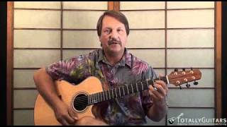 Changes in Latitudes, Changes in Attitudes Acoustic Guitar Lesson - Jimmy Buffett