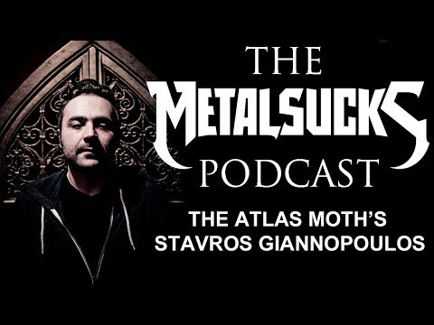 THE ATLAS MOTH's Stavros Giannopoulos on The MetalSucks Podcast #50