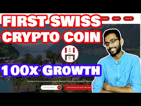 Presenting Swiss Crypto Currency - HEIDI Coin Review (1Coin=$28)