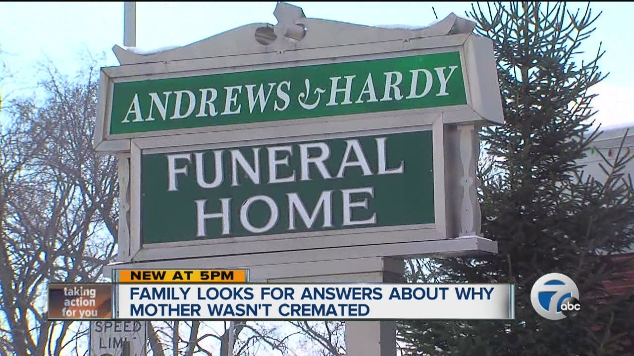 Son S Dead Mother In Garage Of Funeral Home Youtube