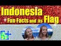 Play-Doh FLAG of INDONESIA!    Indonesia Fun Facts II Flags of the World