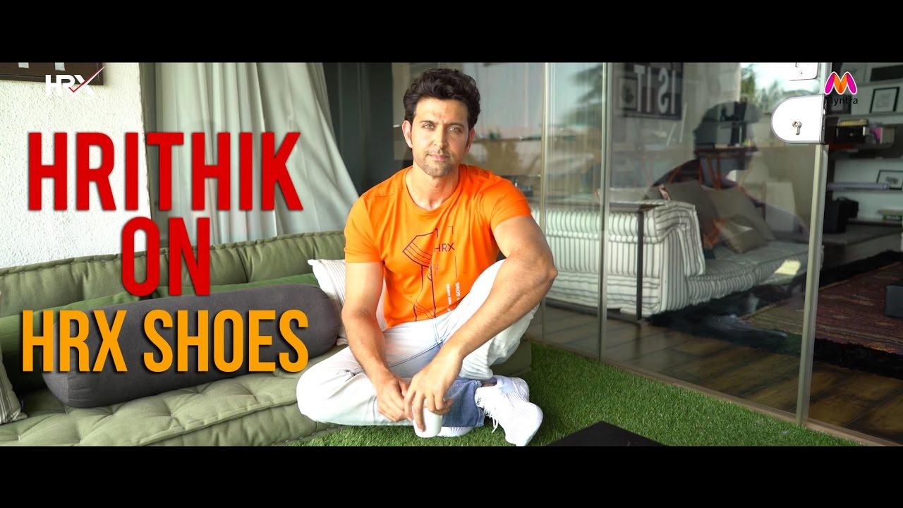 3be1670ae32 Hrithik Roshan on HRX Shoes - YouTube