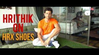 Hrithik Roshan on HRX Shoes - YouTube