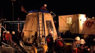 SpaceX Dragon, NASA Science Cargo Back On Dry Land