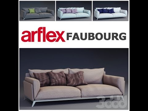 Free New 3D Models Sofa Group 2 3ds Max Vray High Quality