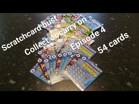 Scratchcard bust collect or carry on Episode 4