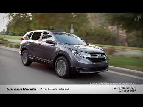 2019 Honda CR-V LX - Spreen Honda (October Specials)