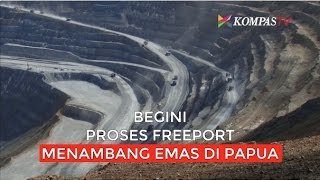 Download Video Begini Proses Freeport Menambang Emas di Papua MP3 3GP MP4