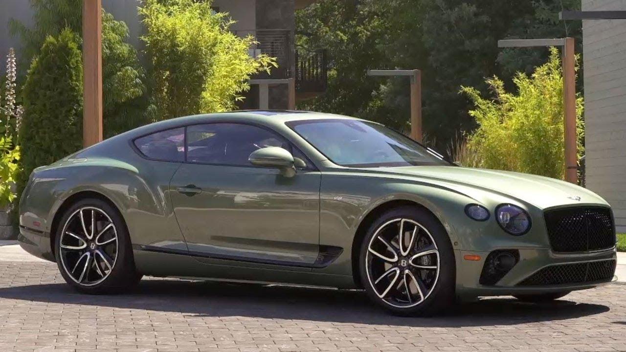 2020 Bentley Gt V8 Alpine Green Unveiled Youtube