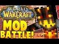 WARCRAFT MOVIE MOD CHALLENGE (NEW WEAPONS)   Minecraft - Mod Battle