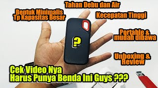 Unboxing Review SSD Eksternal Sandisk Extreme Portable Indonesia
