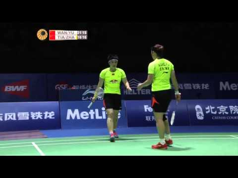 F - 2014 China Open - Wang Xiaoli-Yu Yang vs Tian Qing-Zhao Yunlei