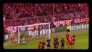 bayern munich 5 vs 1 arsenal highlights champions league 04 11 15