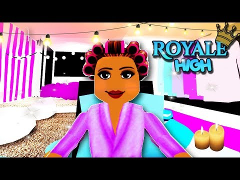 EVERYDAY ROUTINE AS A PRINCESS AT ROYALE HIGH SCHOOL | Roblox Roleplay