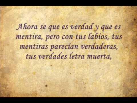 Poema Odio Haberme Enamorado De Ti Música Ls Rock Latino 2011