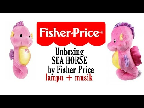 UNBOXING MAINAN FISHER PRICE SOOTHE AND GLOW SEAHORSE #UNBOXINGPLAYTIME