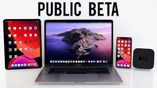 Die Public Beta ist da - Das müsst ihr wissen! | iOS 13, iPadOS, macOS Catalina, tvOS 13